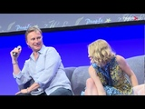 Robert Carlyle and Emilie de Ravin panel - THEC 2017