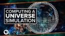 Computing a Universe Simulation   Space Time