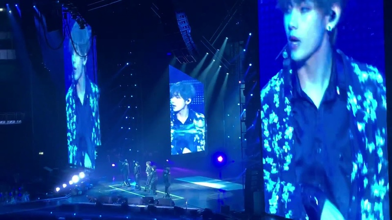 BTS 'Singularity' (FULL HD) LIVE BERLIN 16 10 18 - BTSinBerlin Tour Day - 1
