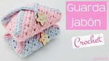Funda para jabon de ganchillo. Case Cover for crochet soap.