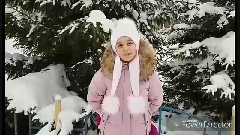 Поздравление с Новым 2019 годом Корышева Елена 4 Г класс, Районный конкурс видеопоздравлений Новогодний позитив