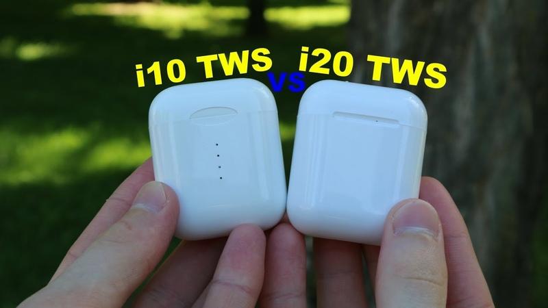 Сравнение i10 TWS VS. i20 TWS. Лучшие копии AirPods. Что лучше Проверенное или Новое