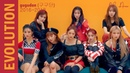 GUGUDAN (구구단) MV EVOLUTION 2016 2018 | Album, Release Song Title | Not That Type end