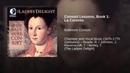 Consort Lessons, Book 1: La Coronto