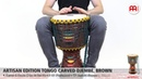 MEINL Percussion - Artisan Edition Tongo Carved Djembe