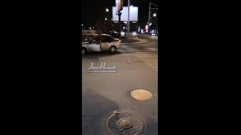 дтп на Комарова/Добровольского
