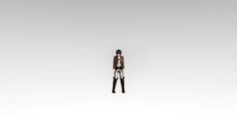 [MMD]-Hi-fi Raver. Капрал Леви о.О