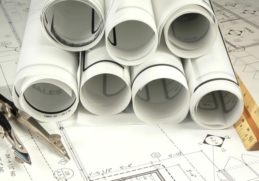 Архитекторы уточнят, где в планах, где в здании находятся кухни, ванные комнаты и другие зоны обслуживания.