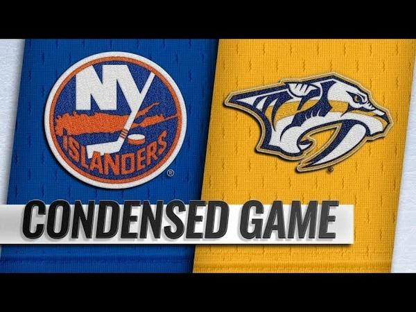 New York Islanders vs Nashville Predators – Oct.13, 2018