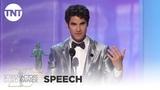 Darren Criss Award Acceptance Speech 25th Annual SAG Awards TNT