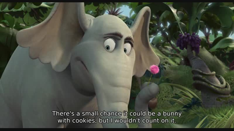 There's a small chance it could be a bunny with cookies, but I wouldn't count on it.