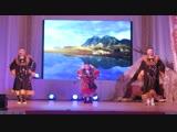 Горловое пение девушек из чукотско-эскимосского ансамбля