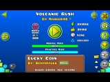 Geometry Dash-Volcanic Rush By Manix648