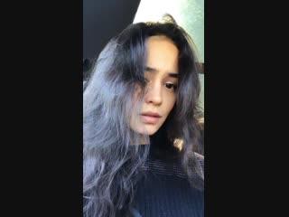Личное видео из инстаграм-историй Кортни (08/02/19)