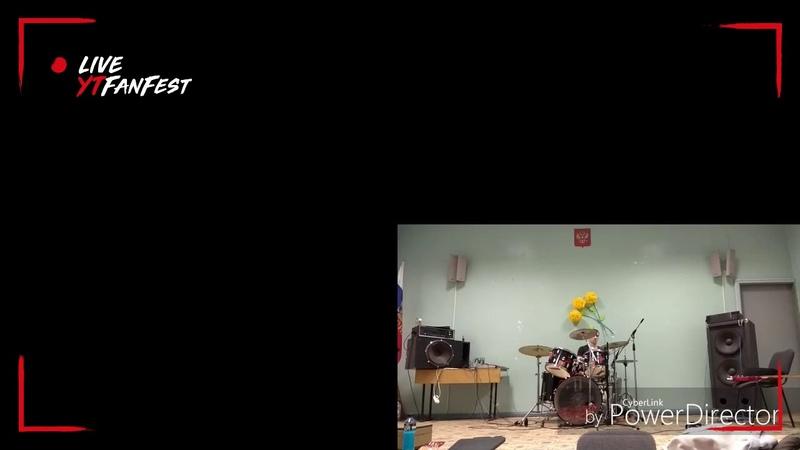 Мияги и Эндшпиль - Хастл (кавер на барабанах) КОСТЯCOSCO Пахомов