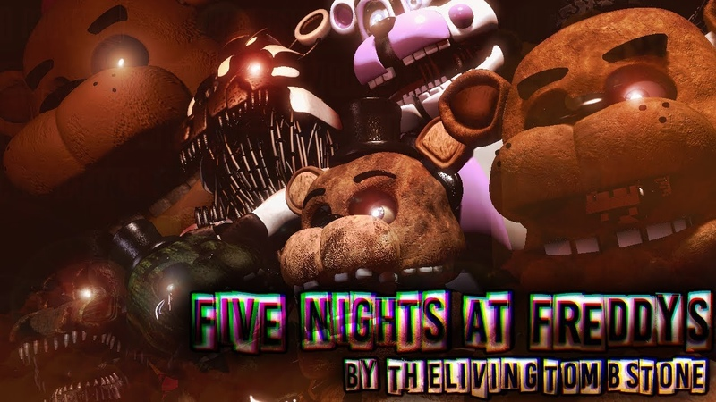 [FNAF/SFM] Five Nights at Freddy's | 7 Game's, 1 Story | Song by TLT
