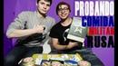 Probando comida MILITAR RUSA!🔥
