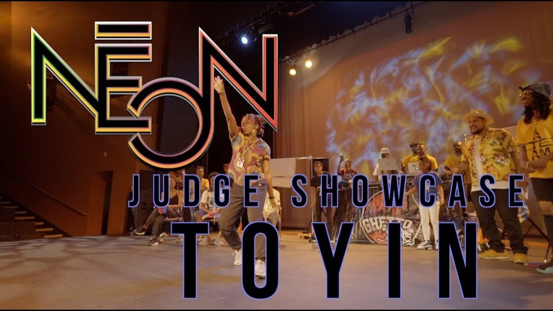 TOYIN JUDGE SHOWCASE NEON 2018