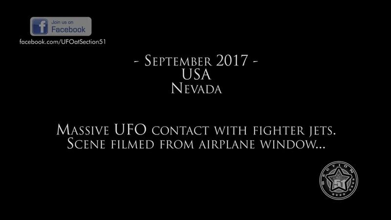 USA NEVADA Semalarındaki Dev UFO