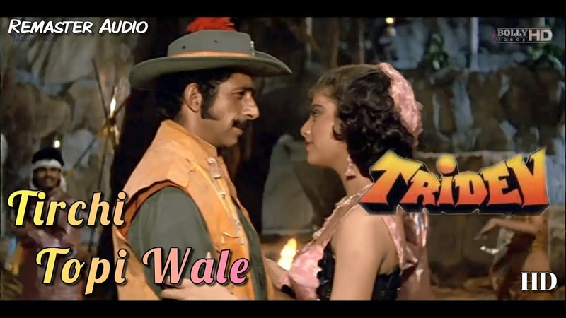 Tirchi Topi Wale - Tridev (1989) Full Video Song *HD*