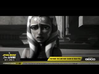 Звездные войны: войны клонов / star wars the clone wars.7 сезон.трейлер #2 с star wars celebration (2019)