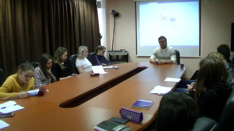 Встреча студентов с предпринимателем Бизнес - инкубатор, градостроительный колледж Грибов Данила Владимирович