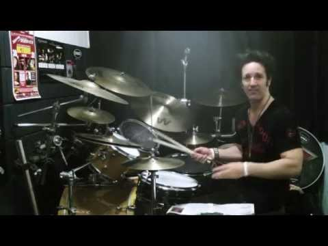Glen Sobel- How to fake double bass- lesson