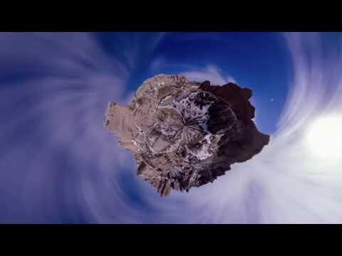 Панорамное звездное небо фотографа Винсента Бреди