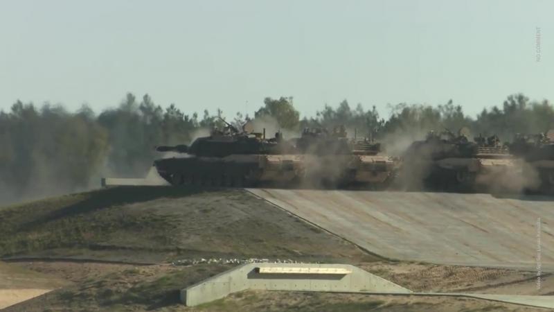 Войска США и НАТО проводят учения на огневом рубеже вблизи Беларуси