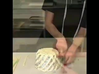 СЪЕДОБНАЯ КОРЗИНКА(описание под видео)