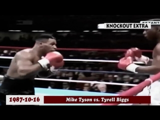 TOP 20 MIKE TYSON BRUTAL KNOCKOUTS - BOXING HD