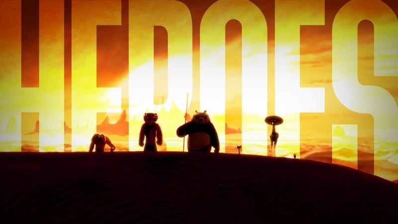 Kung Fu Panda - Heroes (Zayde Wolf)