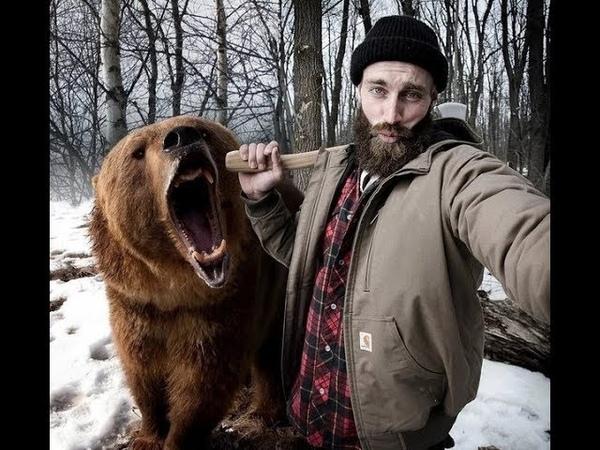 Поляки были удивлены когда челябинские мужики избили медведя