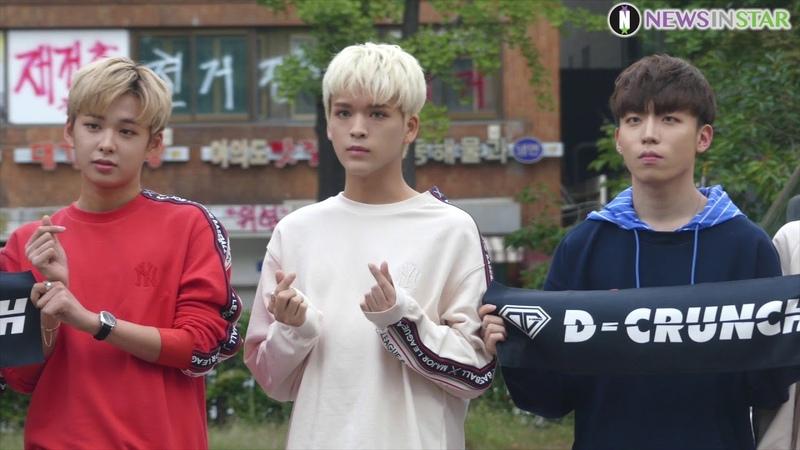 [뉴스인스타] 180914 KBS '뮤직뱅크' 디크런치 출근길 직캠 영상