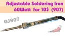 907 Soldering Iron 60W Review