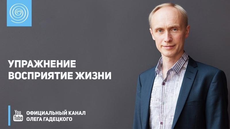 Упражнение «Восприятие жизни». Олег Гадецкий