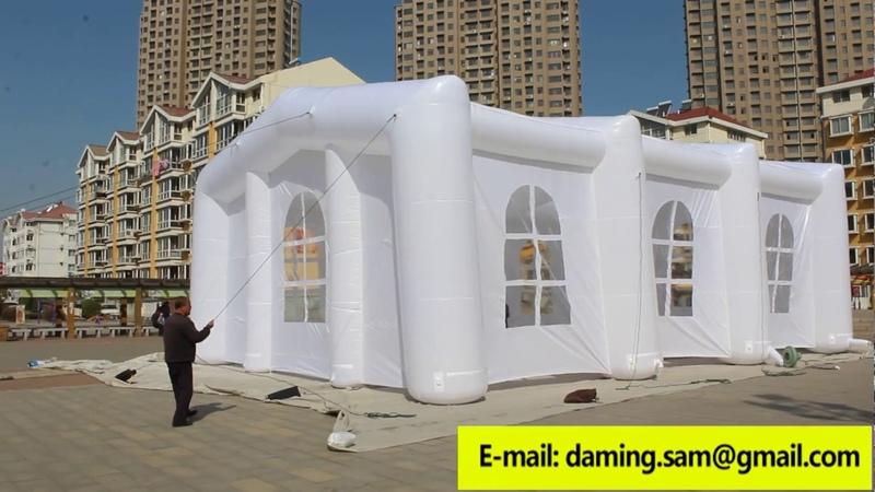 Бизнес идея №55 Надувные шатры для бизнеса