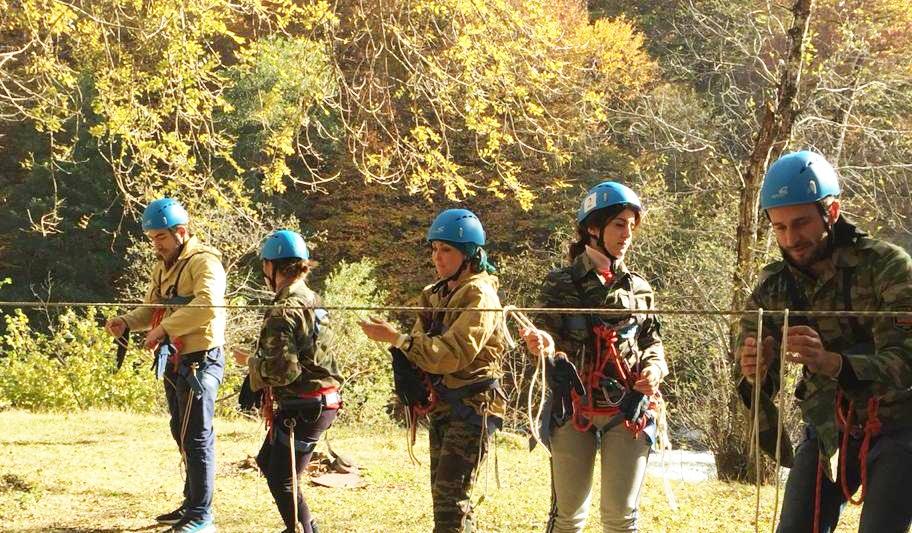 В Зеленчукском районе прошли соревнования по туризму среди учителей