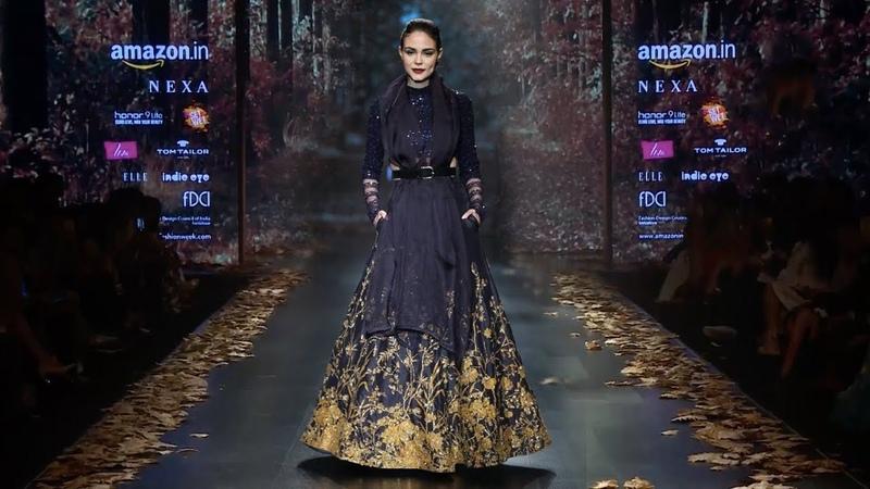 Diana Penty Walks For Shyamal Bhumika | Fall/Winter 2018/19 | Amazon India Fashion Week
