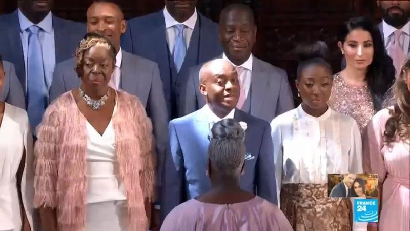 UK Royal Wedding: Gospel Choir sings Stand by Me