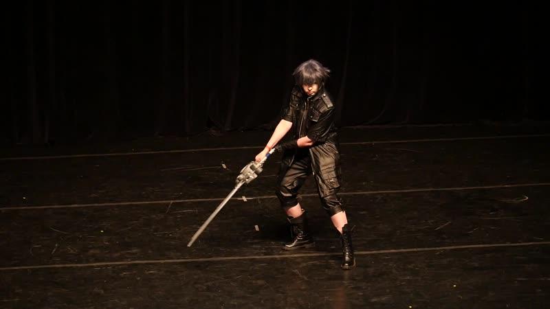 2 34 ИГРОВОЕ ДЕФИЛЕ № 5 Final Fantasy XV Noctis Sasuke Ковров