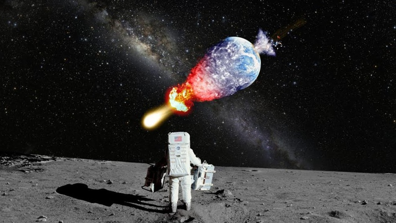 Что если человечество взорвет Луну
