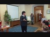 Марина Лыкова читает свои стихи в Кунгурской детской библиотеке им. Б.Рябинина 2018 г.