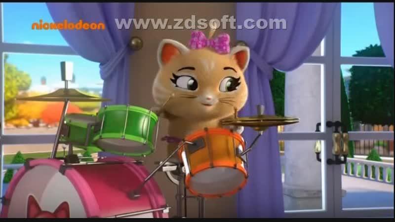 1 серия 1 сезона - Кис-кис-коты на задании