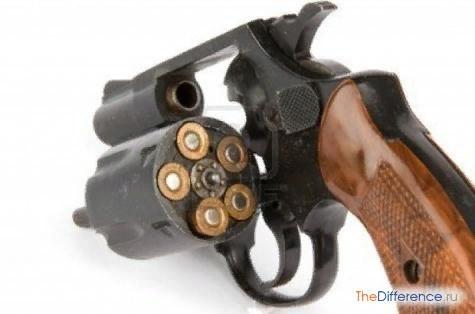 Разница между пистолетом и револьвером