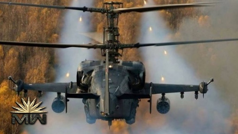 Attack Helicopter Ka-52 Alligator - Russian Air Force [Review]