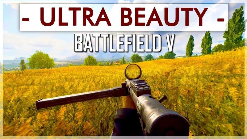 ULTRA PIĘKNY Battlefield V - [BATTLEFIELD 5 GAMEPLAY CINEMATIC]