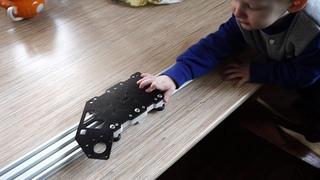 Моторизованный слайдер для таймлапсов. Попытка номер два