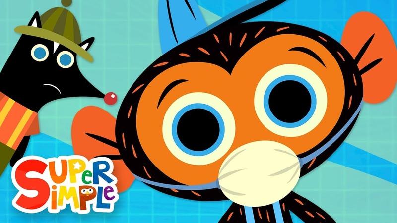 Mr. Skunk's Stinky Garbage Truck   Mr. Monkey, Monkey Mechanic   Cartoons For Kids