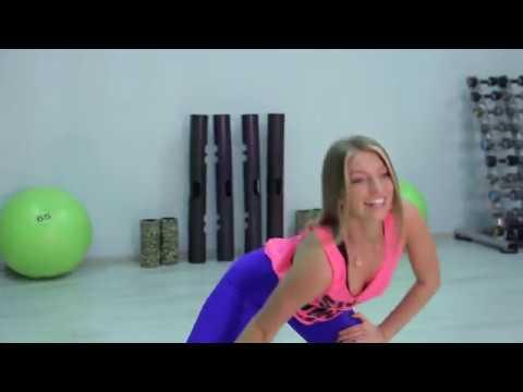 Упражнения для похудения в ногах. Утренняя зарядка с тренером Юлией Артёменко
